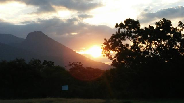 Sunset di Taman Nasional Baluran