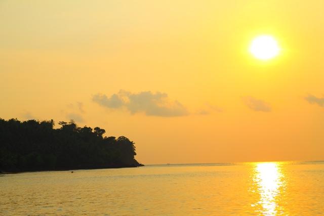 sunset sekitar Pulau Umang-Umang