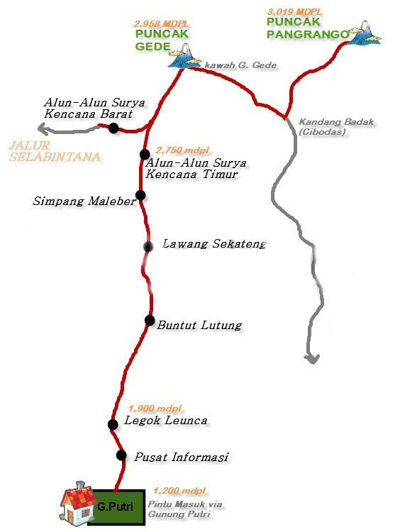 credit to http://infopendaki.com/pendakian-gede-pangrango-via-jalur-gunung-putri/