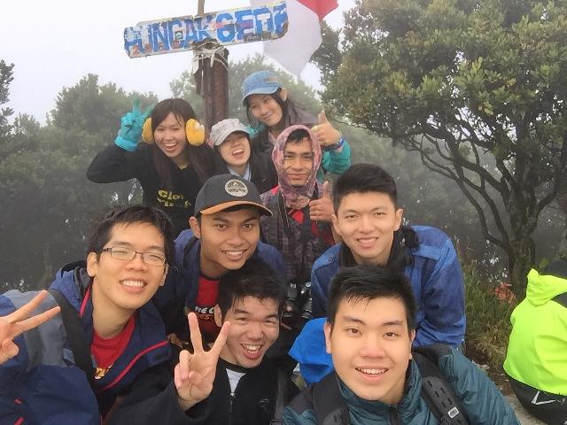 puncak gunung gede (2.958 mdpl)