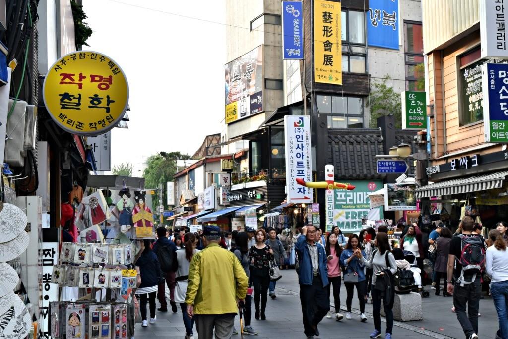 Toko-toko di Insadong