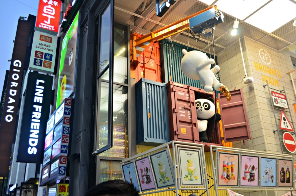 Line Friends Shop Myeongdong