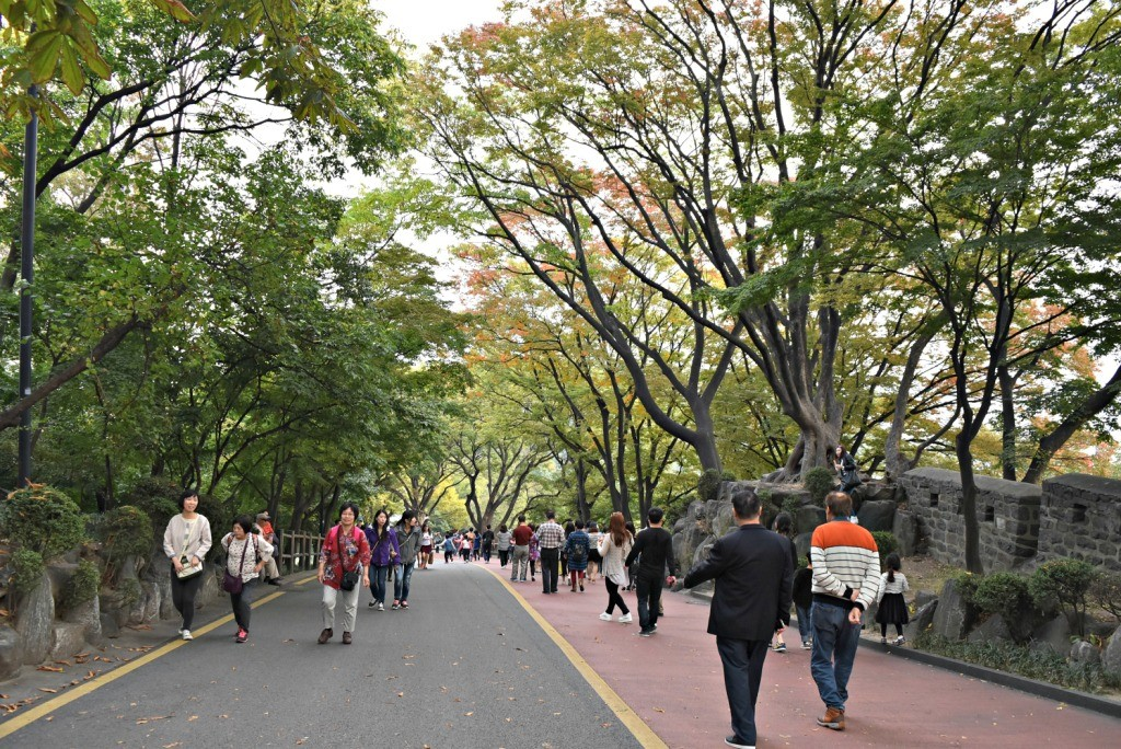 namsan-tower-street