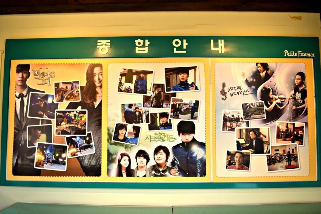 Syuting Korea Drama Petite France