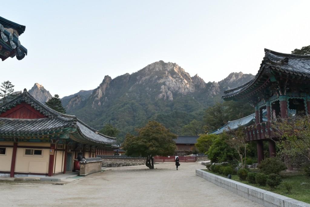 Halaman belakang di Gwonggeumseong Fortress