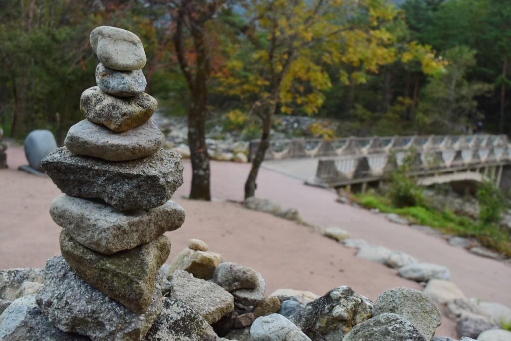 Stacking stone hasil dari harapan gue